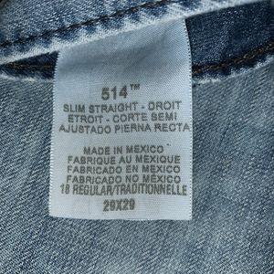 Levi's Jeans - Levi's 514 Slim Straight Jeans